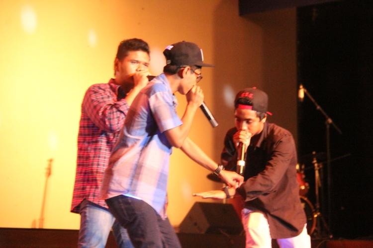 Penampilan Beatbox di malam puncak PSP 5....