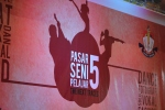 Backdrop kegiatan PSP 5 di Mega Mall Batam centre