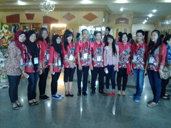 Tim FLS2N provinsi Kepri sesaat ketika sampai di Medan Sumatera Utara