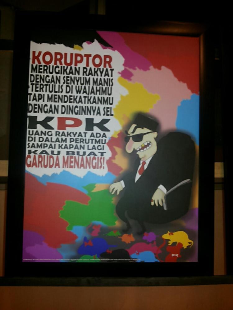 Karya Poster dari salah satu peserta...