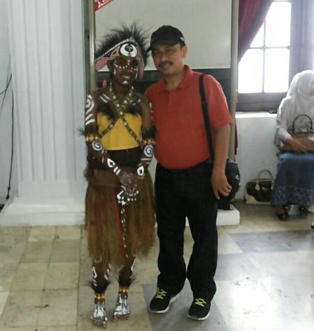 Aku bangga dengan perkembangan dan keterbukaan peserta Papua tahun ini... mereka meraih penghargaan khusus