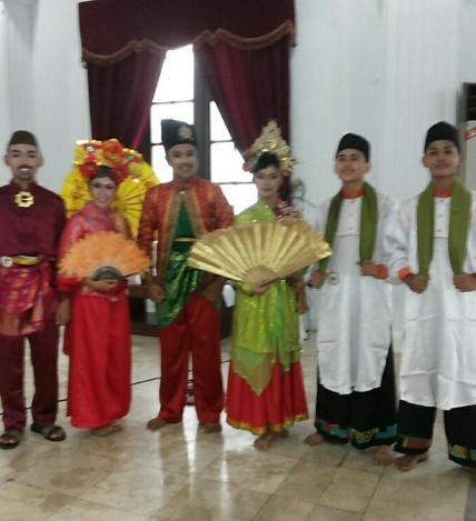Peserta Finalis dari kiri Babel, Riau dan Kepri...