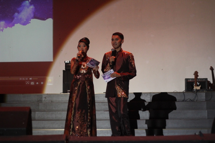 Mesya dan Arga pembawa acara malam puncak PSP 6