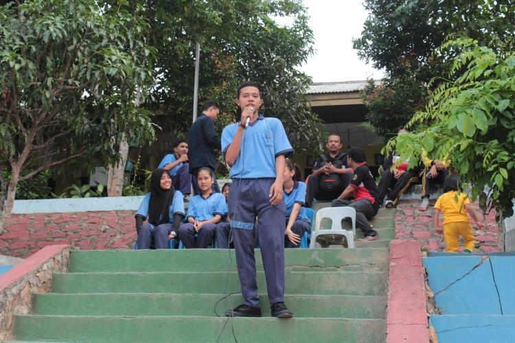 kandidat nomor 5 Arif Tamimi